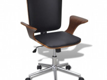 Scaun de birou reglabil din lemn curbat, 241685