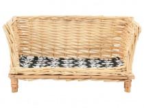 Coș pentru câini cu pernă, 50x33x35 cm 170773