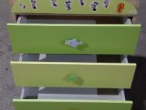 Set camera copil- comoda cu cadita si pat