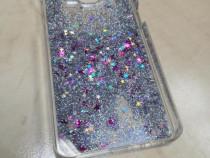Husa Telefon Plastic Samsung Galaxy A5 a500 Glitter Silver