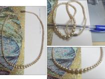 Colier vechi din perle