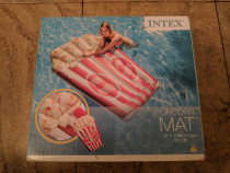 Saltea gonflabila de plaja INTEX in forma de popcorn noua