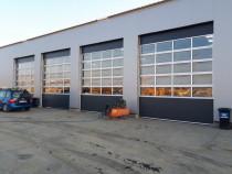 Uși garaj secționale industriale L3700 x 4000 antracit