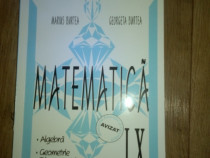 Culegere matematica clasa 9
