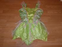 Costum carnaval serbare zana clopotica tinkerbell adulti M