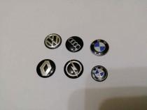 Stickere chei metal Audi/BMW/Volkswagen/Renault/Opel 3M diam