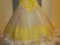 Costum carnaval serbare rochie dans unicat pentru adulti S-M