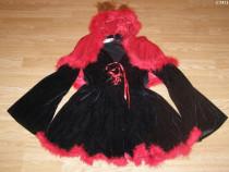 Costum carnaval serbare vulpita vulpe pentru adulti marime M