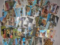 Vedere, ilustrata, carte postala, Italia, Romania