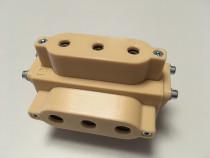 Sablon mobila plastic dur bej forma U v.2 ericsoane 5/7mm
