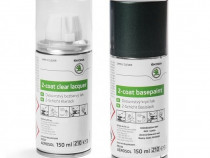 Set Spray Vopsea + Lac Oe Skoda Green Emerald G6Y/2A2A