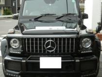 Grila Mercedes Benz G class W463 Model GTR glos black - 19