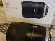 Obiectiv Tamron 35 mm f/1.4 montura Nikon