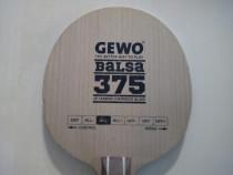 Lemn paleta tenis de masa GEWO Balsa Carbon 375
