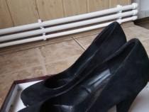 Pantofi piele întoarsă, mărimea 37