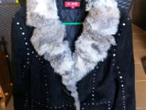 Jacheta dama cu blanita