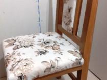 Scaun cu spatar lemn de fag