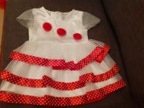 Rochie noua fara eticheta,12 luni +