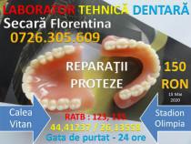 Reparatii proteze dentare - programari non stop