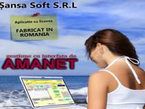 Soft/program SANSA pentru Casa de amanet