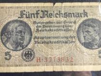 5 reichsmark - Bacnotă germană