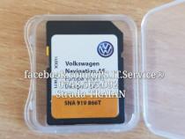 Card nou original navigatie volkswagen discover media mib 2