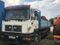 Camion cu macara Man