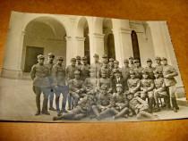 B258-I-WW1 Foto Absolventi Ofiteri Medici Carol Davila Rom.