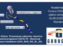 CATIA V5 Curs Online: Proiectarea cablurilor electrice