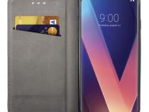 Husa telefon flip book lg v30 black produs nou