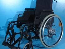 Scaun cu rotile din aluminiu handicap Sopur / sezut 46 cm