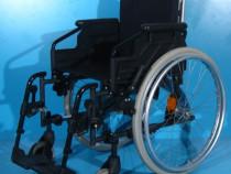 Sopur - carucior cu rotile din aluminiu handicap /sezut 42cm