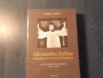 Alexandru Safran si soahul neterminat in Romania Carol Iancu