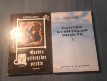Cartea stiintelor oculte 2 volume Aurora Inoan