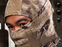 Cagula masca camuflaj textil airsoft bicicleta moto jogging