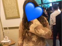 Set elegant bluza din dantela și fusta din tulle