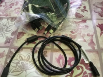 Cablu USB pentru imprimanta.