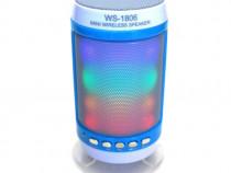 BOXA WSTER WS-1806 BLUETOOTH (alb cu albastru)