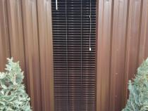 Jaluzele aluminiu, set 4 bucati 40x170cm, gri antracit