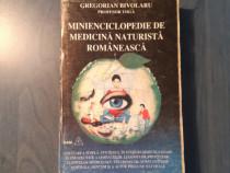 Minienciclopedie de medicina naturista romaneasca G Bivolaru