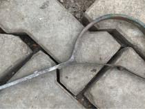 Carlig pentru jgheab indoit 125 mm, zinc (8 buc.)
