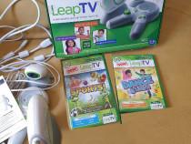 Consola pentru copii LeapTV cu jocuri incluse