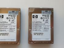 2x HDD HP 146Gb 6G 10K 2.5'' DP SAS