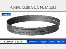 Panza 2715x27x3/4 fierastrau metal CORMAK G 5025 panglica