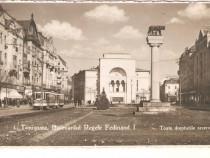 Carte postala Timisoara Bld.Regele Ferdinand cenzurata