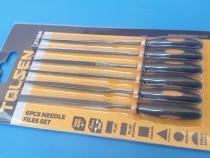 SET (6buc) pile metal tip ac 100 mm x 3 mm pentru lacatuseri