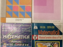 Manual matematica clasa a V-a, diverse editii