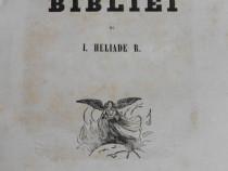 Carte veche ion heliade radulescu biblicele