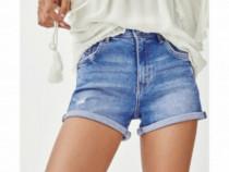 Pantaloni scurti denim Zara