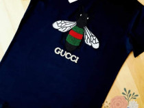 Tricouri unisex Gucci /Italia logo brodat,mărimi diverse